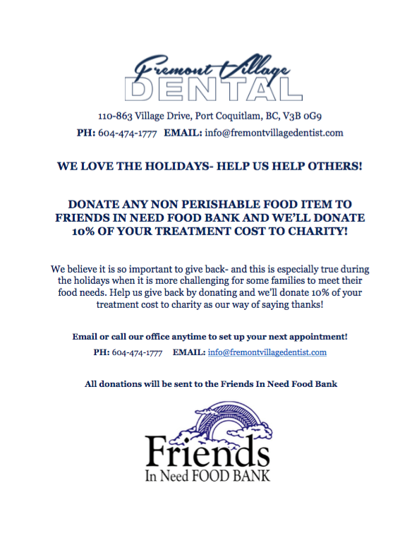 Donate to the food bank